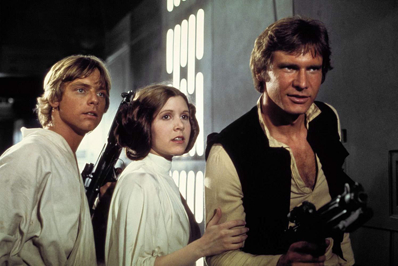 Luke, Leia Han
