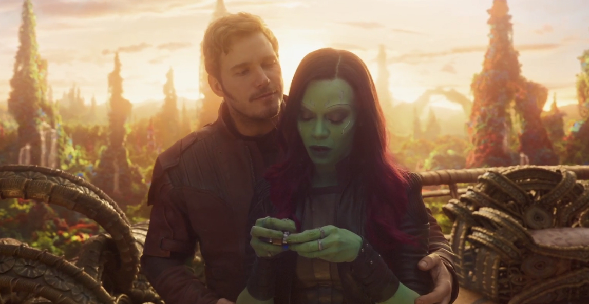 Why We're Thankful for Starlord and Gamora