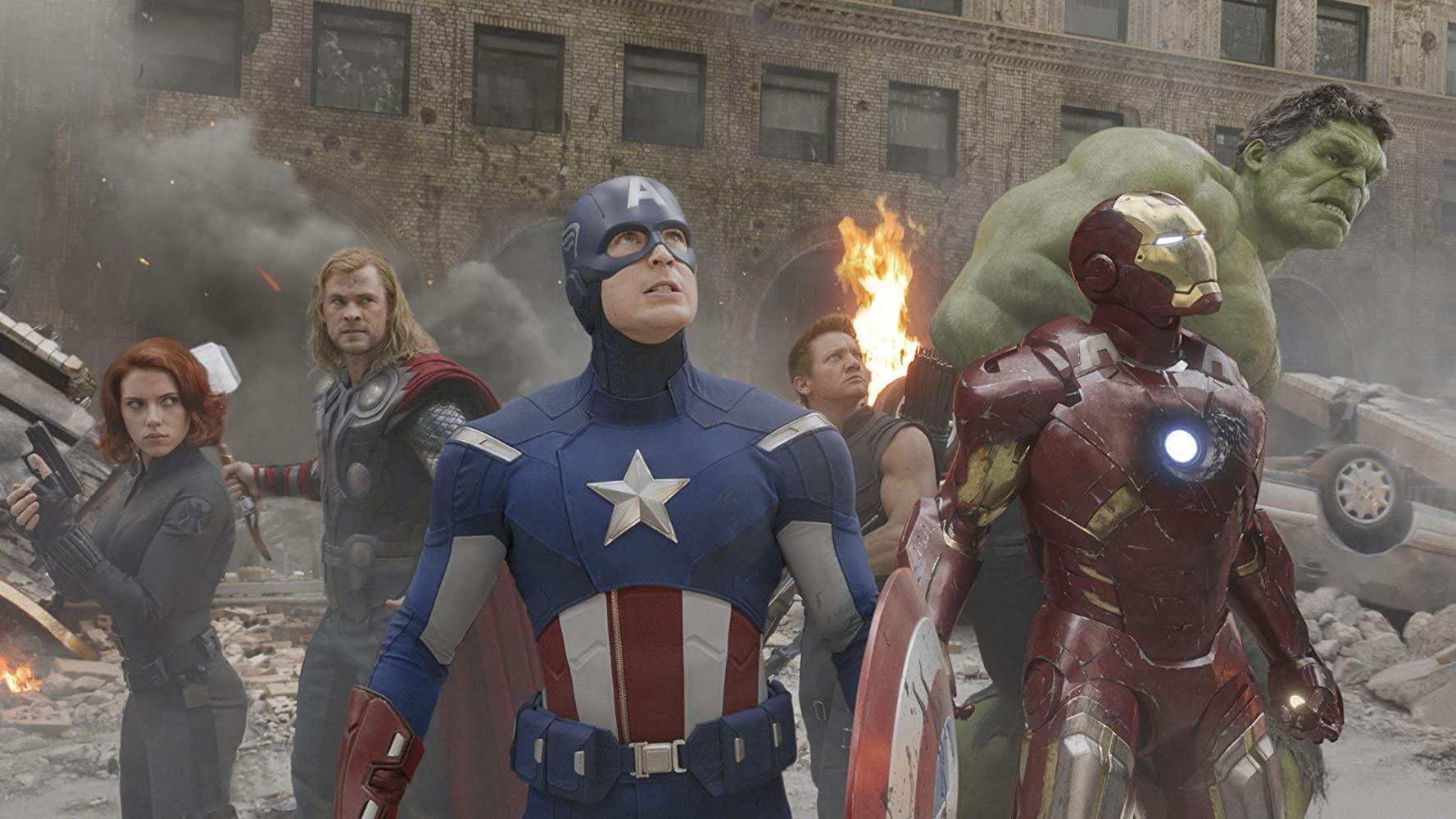 Chris Evans in The Avengers
